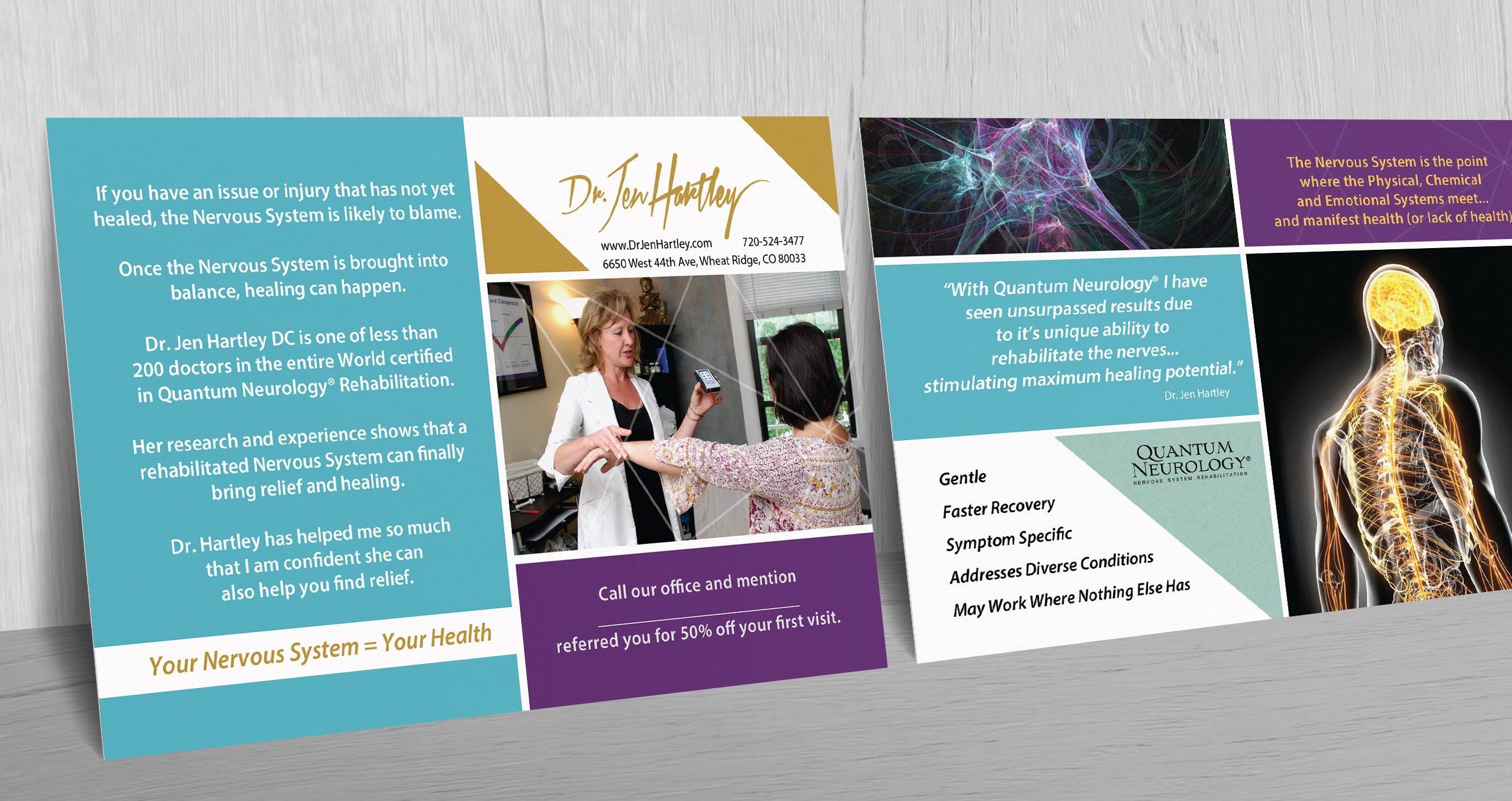 Quantum Neurology Referral Cards