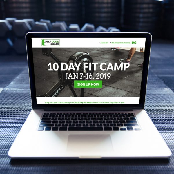 Fitness Bootcamp Landing Page