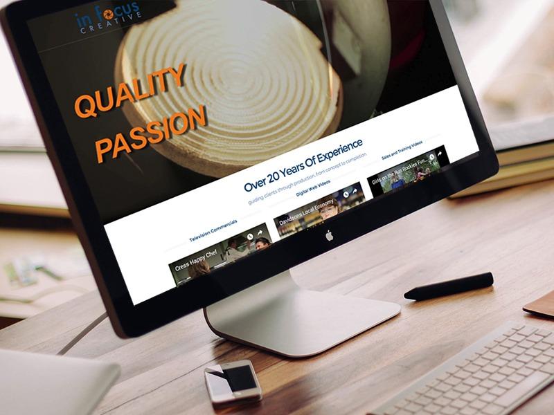 In Focus Creative – Website Design