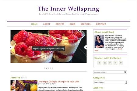 The Inner Wellspring – Website Design and Development