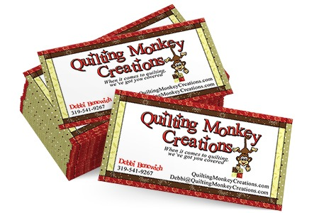 Quilting Monkey Creations – Graphic Design