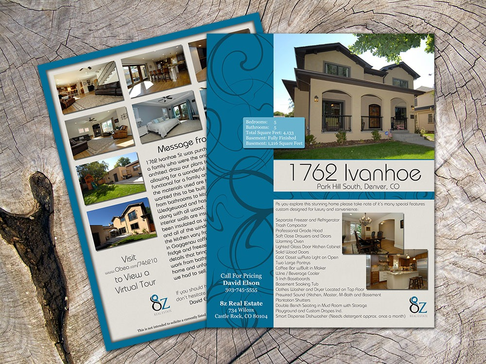 8z Real Estate – Graphic Design