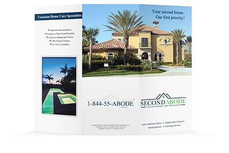 Second Abode - Brochure Design