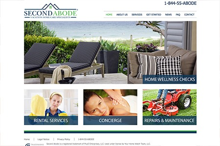 Second Abode – Website Design and Development