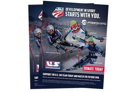 US Ski Team – Graphic Design