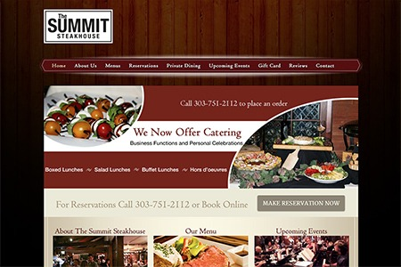 The Summit Steakhouse - After Adroit Redesign