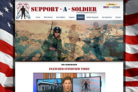 Support a Soldier After Adroit Redesign